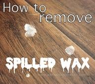 how do i remove wax